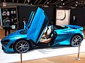 HKCEC 香港會議展覽中心 Wan Chai 蘇富比 Sotheby's Auction preview exhibition 麥華倫 Mclaren race car 720S Spider blue March 2019 SSG 08.jpg