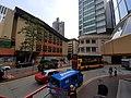 HK CWB 銅鑼灣 Causeway Bay 禮頓道 Leighton Road 奧運橋 Olympic Bridge footbridge view Regal Hong Kong Hotel n Lanson Place Hotel Irving Street St Paul's Convent School October 2019 SS2 12.jpg
