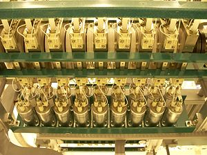 Film capacitor - Power capacitors for higher power snubbing in a thyristor electronic control for HVDC transmission at Hydro-Québec fulfill the same snubber functions as film snubbers, but belong to the family of power capacitors