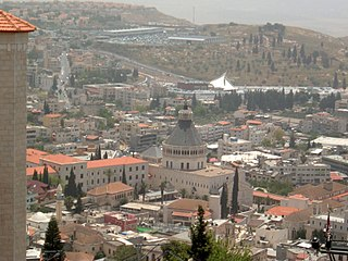 Nazareth Largest city in the Northern District of Israel
