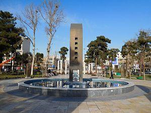 Urbanism in Iran: Tehran - Haft Hoz Square in Narmak