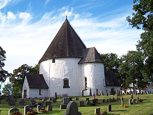 Nordic round churches - The round church in Hagby, Sweden