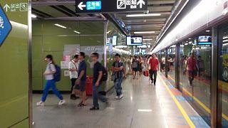 Haizhu Square station Guangzhou Metro interchange station