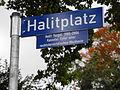 Halitplatz Kassel Straßenschild.jpg
