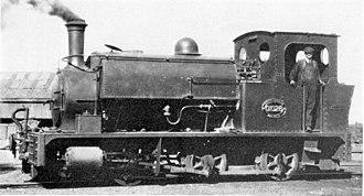 CGR 0-6-0ST - East London Harbour no. 2, CGR no. 1028, SAR no. 01028, c. 1920