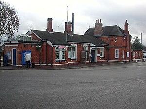 Harlington railway station - Image: Harlington Station Approach