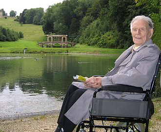 2009 in England - Harry Patch, the last British Army veteran of World War I, who died on July 25th aged 111.