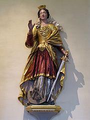 sainte Catherine d'Alexandrie