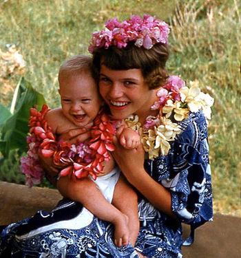 Hawaii visitors in traditional costumes.jpg