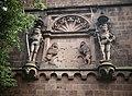 Heidelberg Castle Statues of Pikemen & Lions (9813138396).jpg