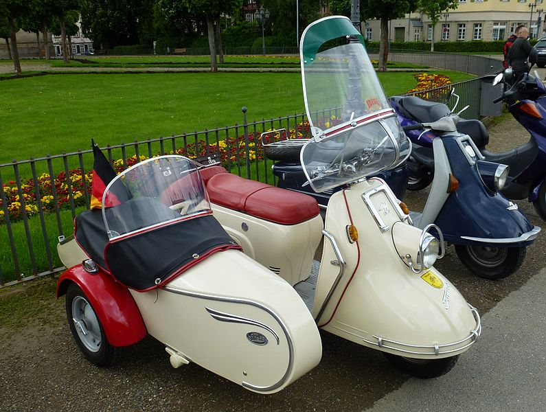 bestand heinkel tourist scooter with sidecar from the. Black Bedroom Furniture Sets. Home Design Ideas