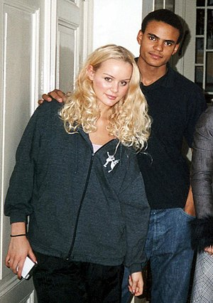 Mohombi - Early on, Helena Mattsson and Mohombi were in the same cast of Wild Side Story.