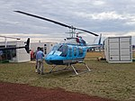 Heliflite (VH-BYJ) Bell 206L-3 LongRanger III on display at the 2015 Australian International Airshow 2.jpg
