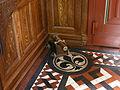 Hellig Kors Kirke Copenhagen porch cannon.jpg