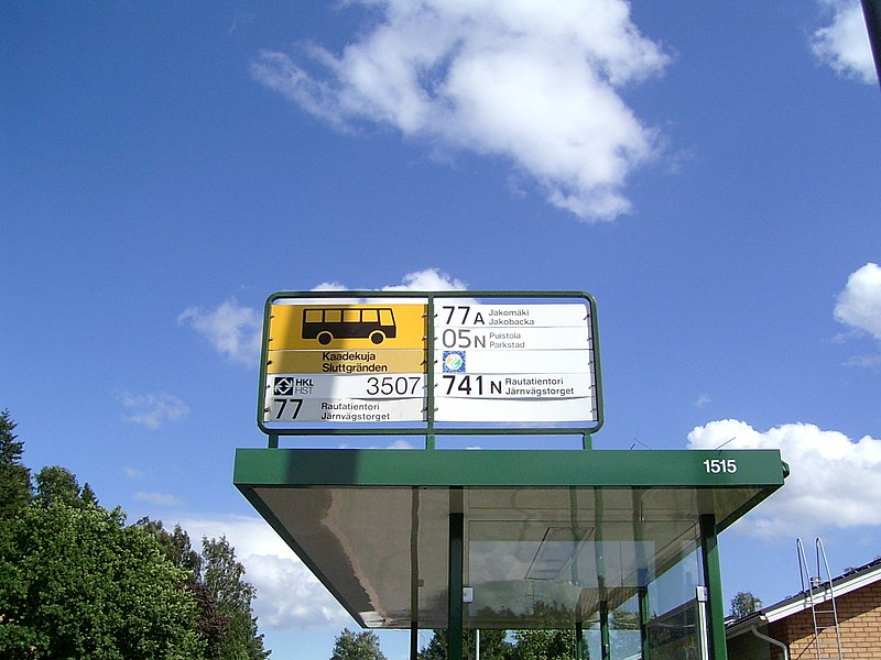 File:Helsinki bus stop sign.jpg