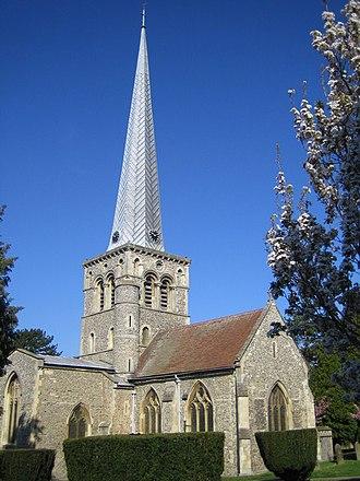 Hemel Hempstead - The Norman church of St Mary's (1140)