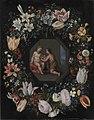 Hendrik van Balen d.Æ. - Blomsterkrans med Jesus og Johannes - KMSst226 - Statens Museum for Kunst.jpg