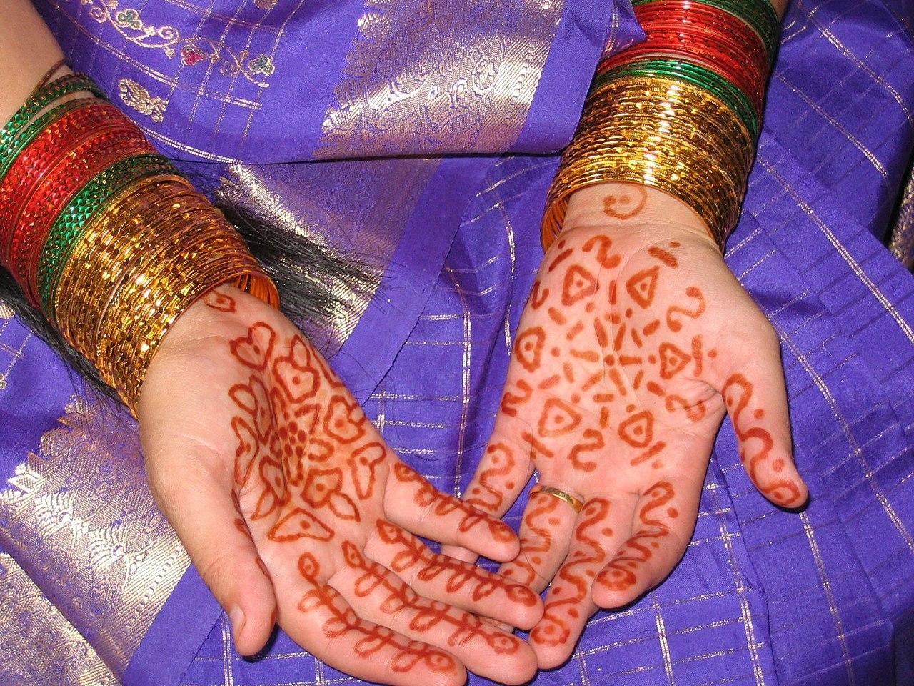 Mehndi Henna Wikipedia : File henna g wikimedia commons