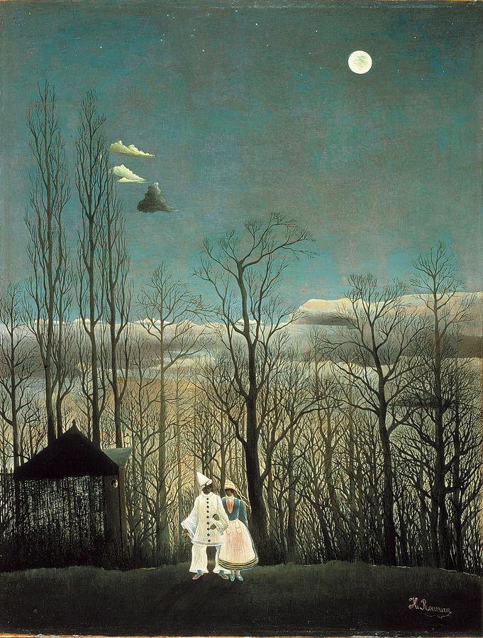 ROSSEAU, Henri Carnival Evening, 1886