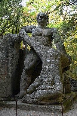 Hercules e Cacus in Parco dei Mostri (Bomarzo)