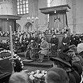 Herdenkingsbijeenkomst in de St. Bavokerk in Haarlem voor de 422 gefusilleerden , Bestanddeelnr 255-9110.jpg