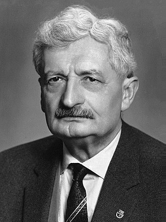 Hermann Oberth - Image: Hermann Oberth 1950s
