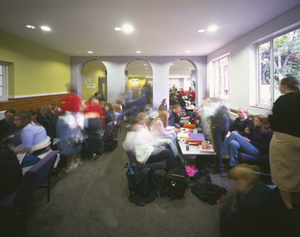 The Hertfordshire and Essex High School - The Sixth Form Common Room.