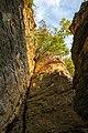 Hessigheim - Felsengärten - Blick aus Felskamin hochkant.jpg