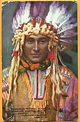 Hiawatha Indian Chief - 1911 - Tuck Oilett