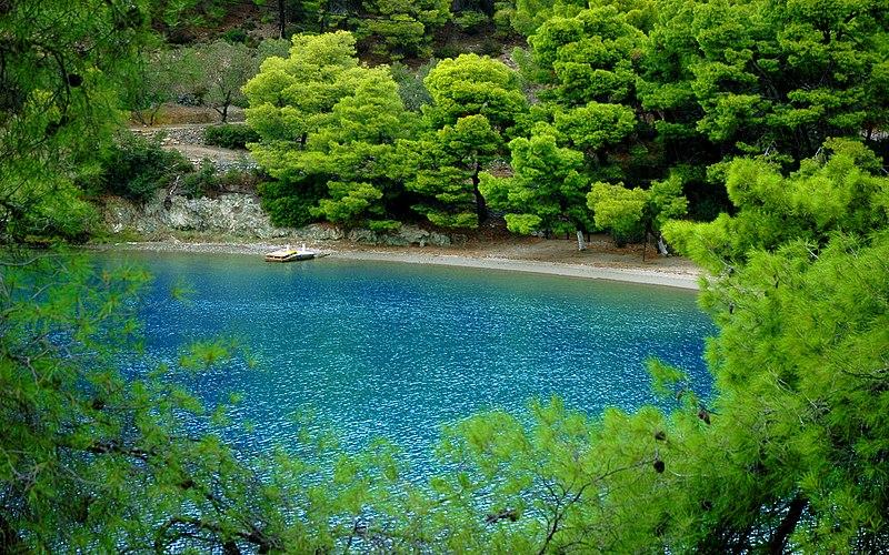 Love Bay in Poros