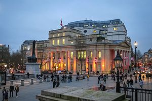 High Commission of Canada in the United Kingdom - Evening photo of High Commission