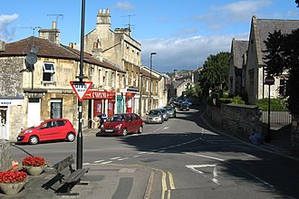 Weston, Bath - Image: High St, Weston, Bath