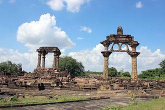 Torana - Hindola Torana. 9th century Torana in Madhya Pradesh, India