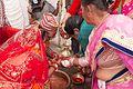 Hindu cultural marriage ceremony IMG 3264.jpg