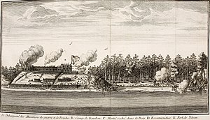 King William's War - York Factory attacked and taken by the French in 1697.