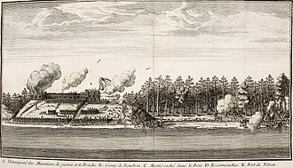 Pierre Le Moyne d'Iberville - French forces led by d'Iberville, managed to defeat an English squadron, and capture York Factory during the Battle of Hudson's Bay.