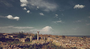 Histria (ancient city) - Panorama of the site