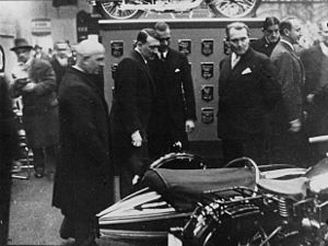 Berlin Motor Show - Hitler and Göring at the Berlin Motor Show, February 1933