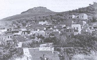 Hittin - Image: Hittin Khalidi 1934