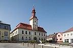 Hlinsko, het gemeentehuis Dm258346-837 IMG 6575 2018-08-04 10.25.jpg