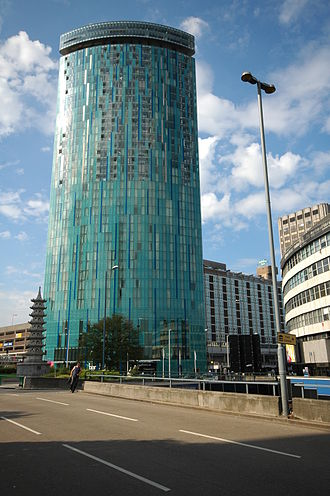 10 Holloway Circus - Image: Holloway Circus Tower Birmingham