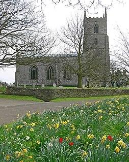 Teigh village in the United Kingdom