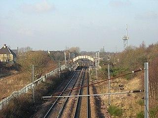 Holytown railway station