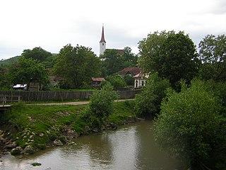 Ocland Commune in Harghita County, Romania
