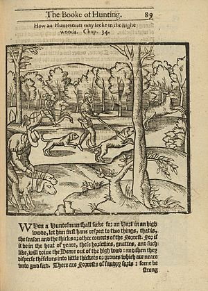 George Gascoigne - 1611 edition of The Noble Art of Venerie or Hunting, translated by Gascoigne