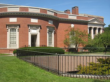 Houghton Library, Harvard University, Cambridg...