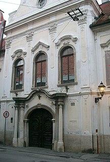 History museum in Zagreb, Croatia