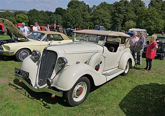 Terraplane - 1934 Terraplane Tourer