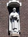 Huissen (Lingewaard) kapel Dominicanenklooster, gevelbeeld St.Thomas Aq..JPG