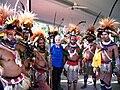 Huli Wigman visit Cooktown, Australia 2005.jpg